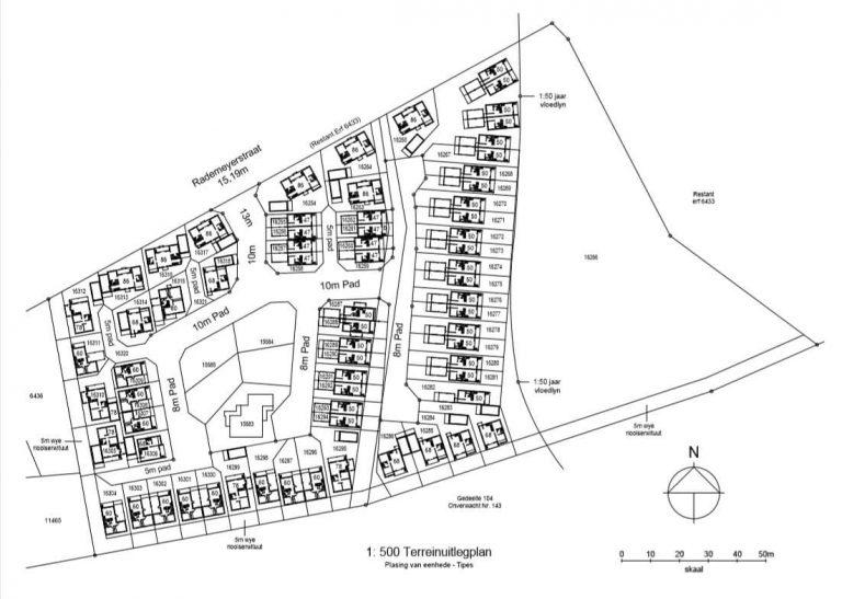 Karoo Park Terreinplan / Site Plan